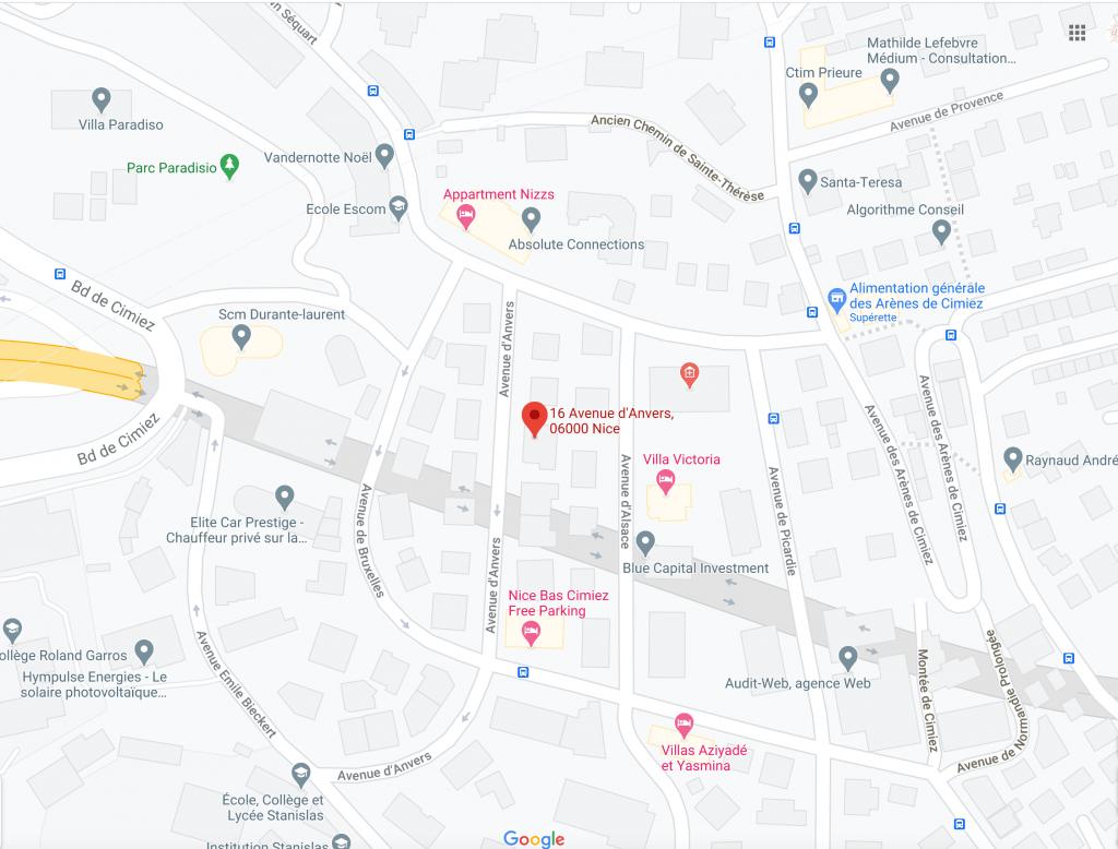 Nelly Comte Energéticienne - 16 Avenue d'Anvers - NICE